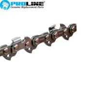 """Proline® Chainsaw Chain 20"""" 3/8"""" LP .063 Gauge 72DL 75LPX072G"""