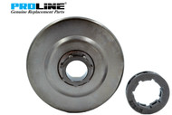 Chain Sprocket With Rim For Stihl 044, 046, MS361, MS440, MS460,   Replaces OEM 1128 007 1000