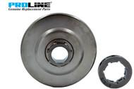 Proline® Clutch Drum Rim Sprocket For Stihl 044 046  MS361 MS440 MS460 1128 007 1000