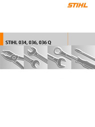 Download Service Manual For Stihl 034, 036, 036 QS