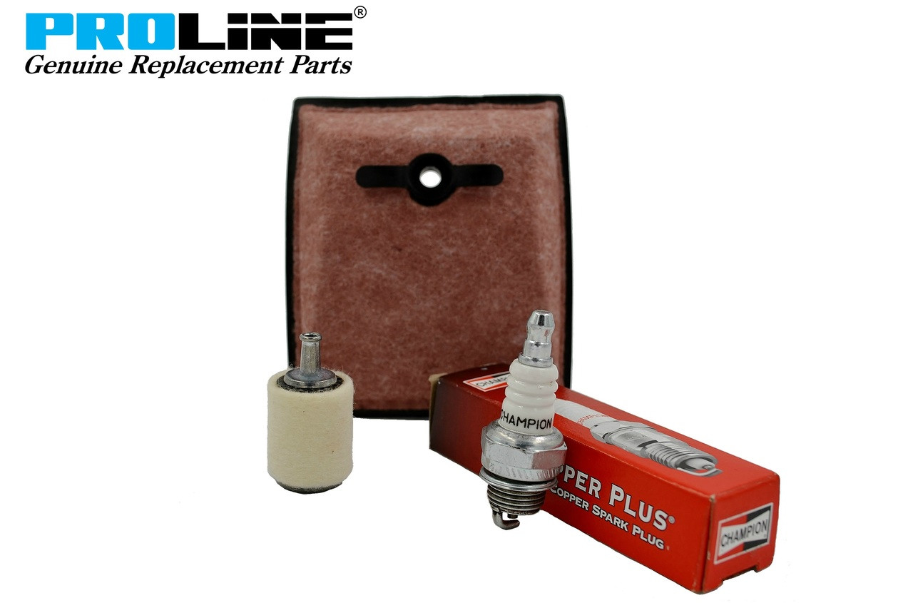 Proline® Tune Up Kit For Homelite SUPER XL, SXL, XL12 Air Filter 63589A  Fuel Filter