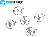 Proline® Carburetor Bowl Gasket 5 pack  For Briggs And Stratton 698781 Nikki