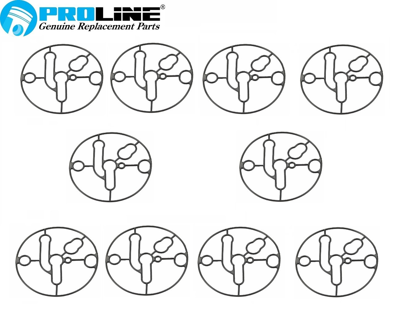 Proline® Carburetor Bowl Gasket 10 pack For Briggs And Stratton 698781 Nikki