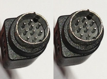 Bose Compatible 9 pin Mini din Male Male A Type Non B Cord Cable 25 ft Black Color