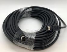 Mini Din 6 Pin Male Female 50 Foot Cable Black Color