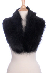 S6206 - Faux Fur Collar  Black