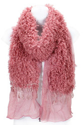 S2200 - Winter Fluffy Furry Oblong Scarf