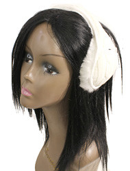 E3201 - Cable Knit Wholesale Back of Head Earmuffs With Earphone Holders (Wholesale Dozen) (E3201-Dz) (view) Mixed dozens of White or Black only