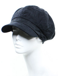 H4244  - Flannel Feel Solid Color Cap
