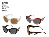 B7213 Fashion Wholesale Ladies Curl Sunglasses