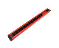 Mechanics Time Saver 1/4 in Drive Lock A Socket Magnetic Rail Rack MTS USA Made