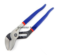Pro America 10 in. Tongue & Groove Joint Pliers Angle Nose MADE IN USA 8010