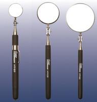 Ullman 3pc Telescoping Inspection Mirror Set Textured Grip 1-2-3 in. Diameter
