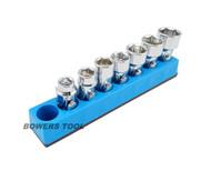 Mechanics Time Saver 3/8 Drive Magnetic Metric Hex Flex Universal Socket Holder