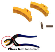 Pro America Cannon Plug Pliers Replacement Jaw Set for SK Proto Armstrong Milbar