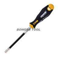 Felo 11 in. Flexible Flex Bit Holder Screwdriver Magnetic Tip Germany Ergonic