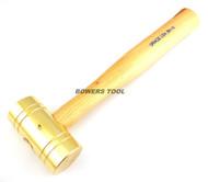 Grace USA 16oz Brass Hammer Made in USA