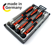Felo 6pc Precision Micro Mini Screwdriver Set Phillips Flat Repair Germany