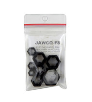 Jawco 8pc F8 NF-SAE Fine Rethreading Die Set Thread Restore 1/4-3/4 USA MADE