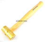 Grace USA 8oz Brass Hammer Made in USA