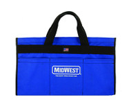 "Midwest Custom Tool Bag 12 Pouch 18"" x 6"" Made in USA"