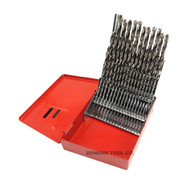 Norseman 60pc CN-TECH NUMBER Wire Gauge Drill Bit Set w Index #1-60 USA CT-60