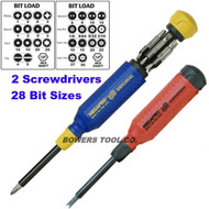 Megapro Original & Tamperproof Multi Bit Screwdriver Set Torx Hex Phillips USA