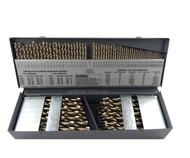 "Cle Line 115pc COBALT M42 Drill Bit Set Number Letter Jobber 1/16"" to 1/2"" USA"