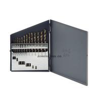 Cle Line 13pc COBALT M42 Hex Shank Drill Bit Set 1/16-1/4 Jobber Lengths USA