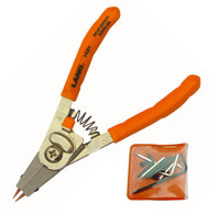"Lang 6"" Convertible Snap Retaining Ring Pliers Quick Switch Internal External"