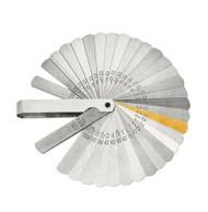 Lang Master Feeler Ignition Gauge 32 Leaf Blades 1 Brass .0015 to .035in USA