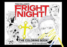Fright Night Adult Coloring Book
