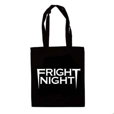 Fright Night Canvas Tote Back