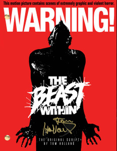 THe Beast Within.  Tom Holland's first script to be made into a feature film.