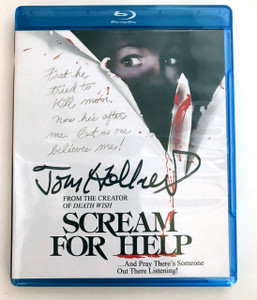 Autographed Scream For Help Blu Ray