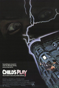 Autographed Child's Play Movie Poster