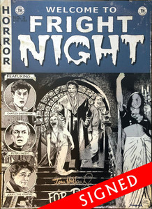 Limited Edition Autographed Fright Night Poster by John Sloboda
