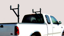 Strong-Ender Side-Mount Truck Ladder Rack features multiple tie down points for securing loads less than 250 lbs