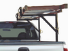 Strong-Ender Side-Mount Truck Ladder Rack fits both fleet side trucks and trucks with factory track systems (ladder not included)