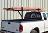 Strong-Ender Side-Mount Truck Ladder Rack mounted on fleet side pickup (ladder not included)