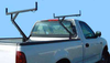 3 Ladder Side-Mount Truck Rack installs without drilling