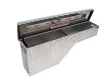 Brute Pork Chop Wheel Well Truck Tool Box - choice of driver or passenger side application
