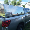 Open Shelf Slant Front Dual Layer Topsider/Flat Bed Truck Toolbox