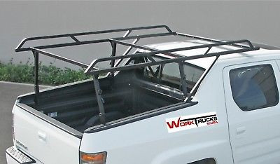 Honda Ridgeline Over The Cab Truck Ladder Rack has three crossbars for full support