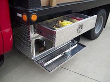 Brute Heavy Duty Top Drawer/Bottom Door Underbody Tool Boxes (tools NOT included)