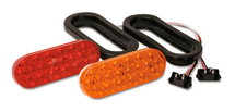 "6.5"" Sealed Oval LED Turn/Stop Light Kit"