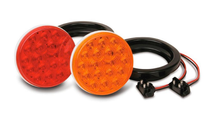 "4"" Sealed Round LED Stop/Turn/Tail Light Kit"