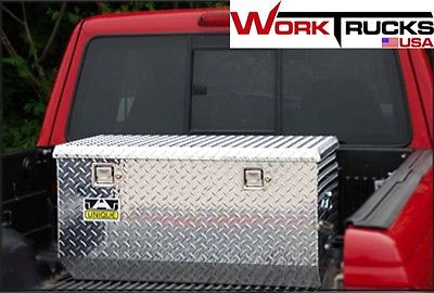 """60"""" Rear Offset Chest Style Aluminum Truck Tool Box"""