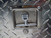 """Locking paddle latches on our 60"""" Rear Offset Chest Style Aluminum Truck Tool Box"""