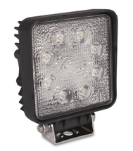 "24 Watt 4 1/2"" Square LED Flood Light Set (two lights included)"
